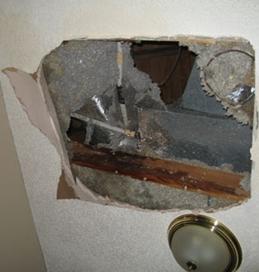 vancouver BC drywall damage