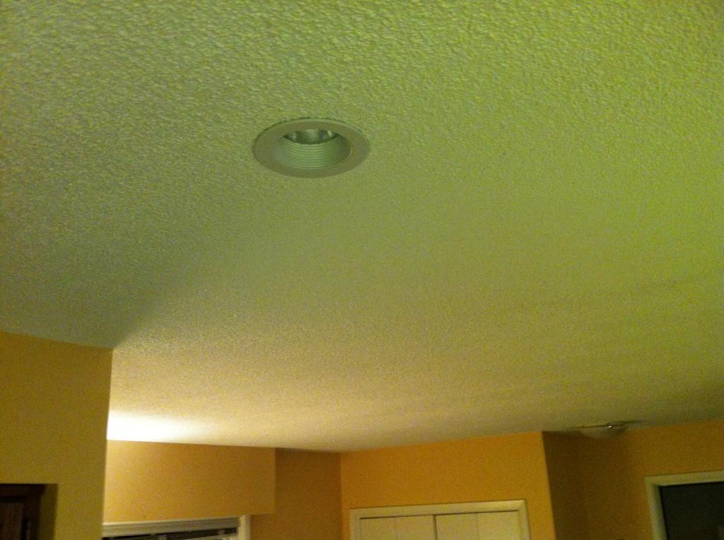Vancouver BC stipple texture popcorn ceiling repair