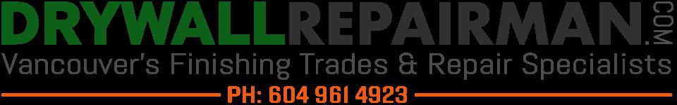 Drywall Repairman - Building Restoration Service