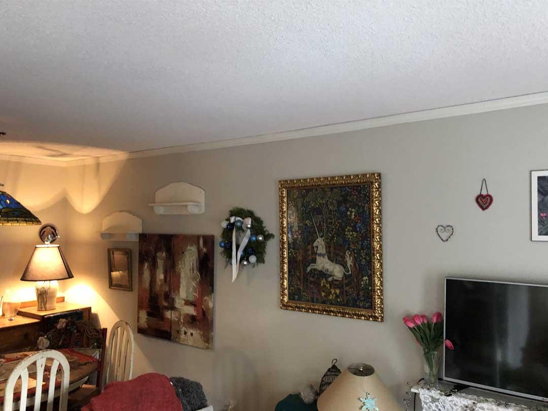 ceiling texture repair