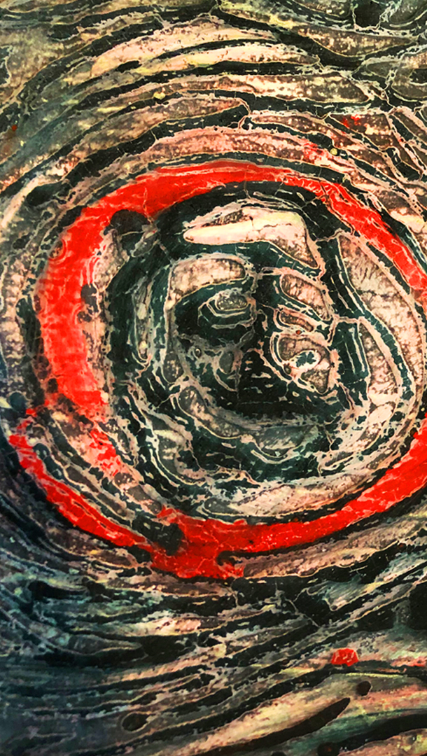 Abstract art for sale venetian plaster Vancouver